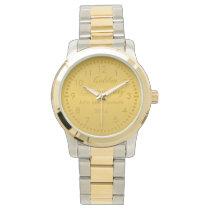 Golden Anniversary Wrist Watch