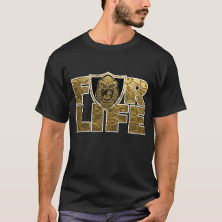 Golden Ape BeastMode For Life T-Shirt