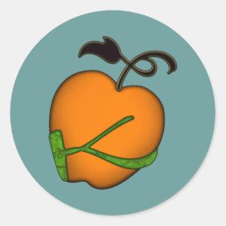 Golden Apple of Eris Classic Round Sticker