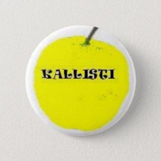 Golden apple pinback button