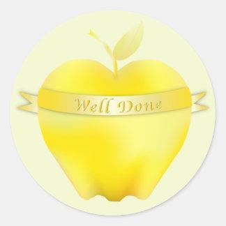 Golden Apple Praise Stickers