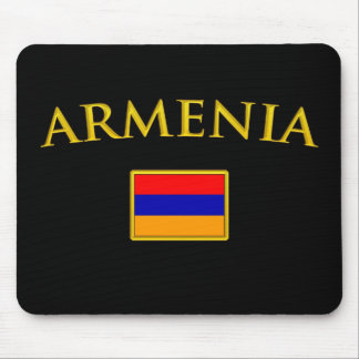 Golden Armenia Mouse Pad