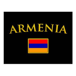 Golden Armenia Postcard