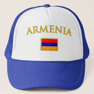 Golden Armenia Trucker Hat