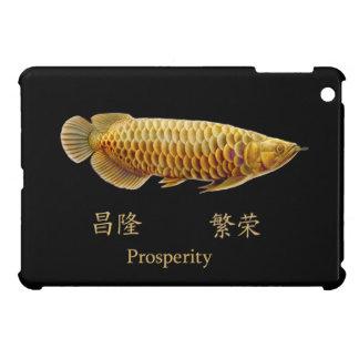 Golden Arowana Prosperity iPad Mini Case