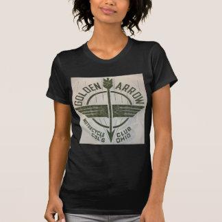 Golden Arrow Motorcycle Club Logo T Shirt