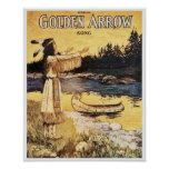 Golden Arrow Poster