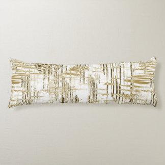 Golden Art Deco Body Pillow