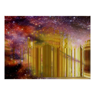 Golden Astral Palace2 Poster