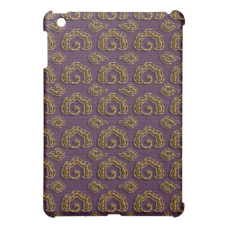Golden auspicious clouds cover for the iPad mini