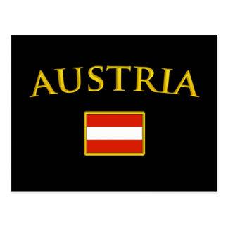 Golden Austria Postcard
