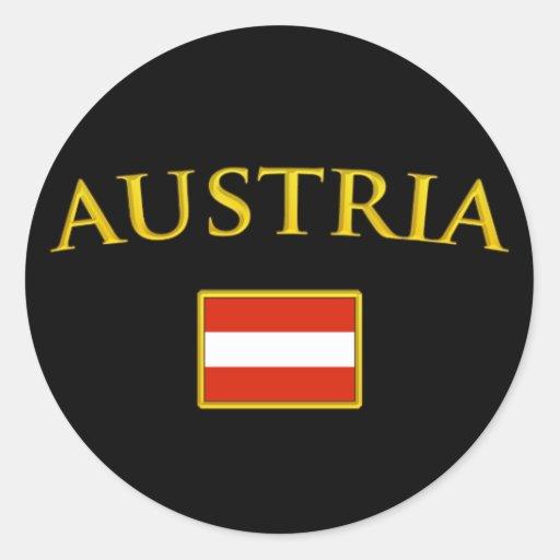 Golden Austria Sticker