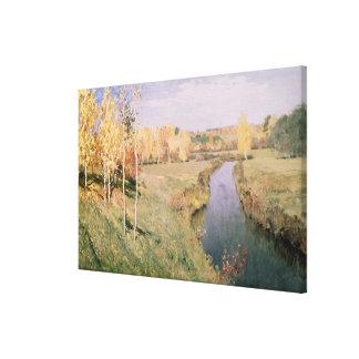 Golden Autumn, 1895 Canvas Print