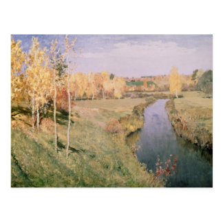 Golden Autumn, 1895 Postcard