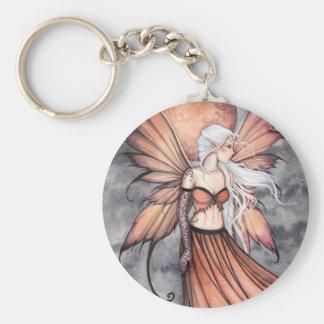 Golden Autumn Fairy Keychain