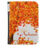 Golden Autumn Kindle Cover - Fall Colors