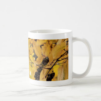Golden Autumn Leaves Mug