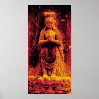 Golden Avalokiteshvara  Poster