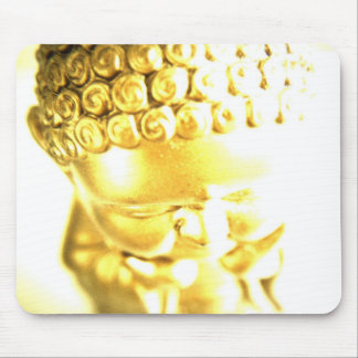 Golden Baby Buddha mousepad