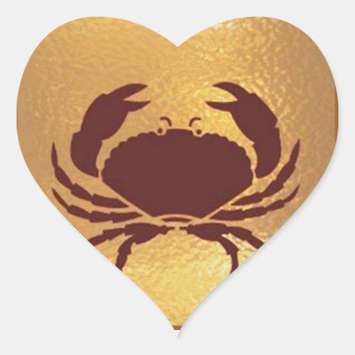 Golden Baby Fun : Bird Fish Star Smiles Heart Sticker