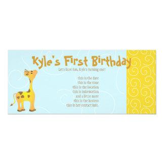 Golden Baby Giraffe Card