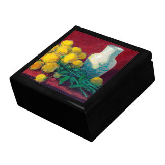 Golden Ball Flowers Gift Box