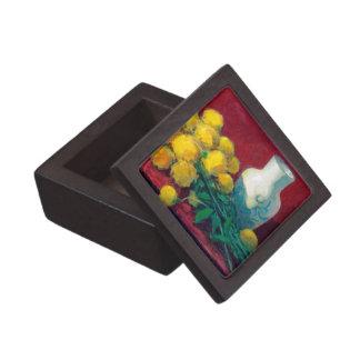 Golden Ball Flowers Jewelry Box