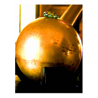 Golden Ball Postcard