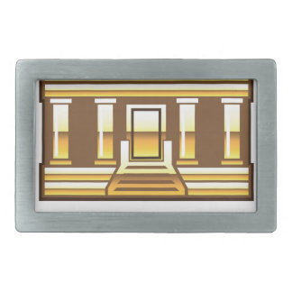 Golden bank Link Your Bank Button Glossy Belt Buckle