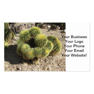 Golden Barrel Cactus Business Card