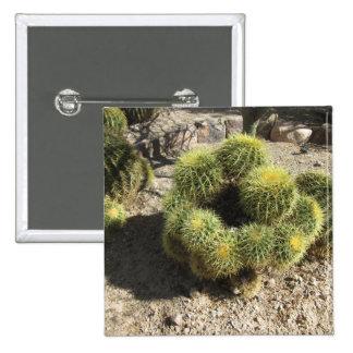 Golden Barrel Cactus Button