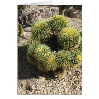Golden Barrel Cactus Greeting Card