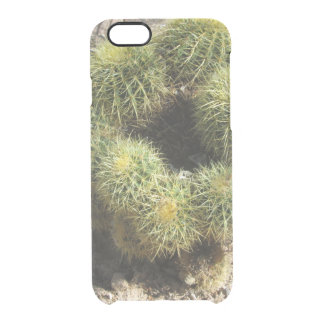 Golden Barrel Cactus Clear iPhone 6/6S Case