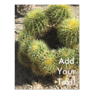 Golden Barrel Cactus Magnetic Card