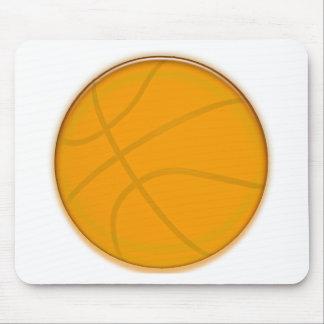 Golden Basketball Mousepads