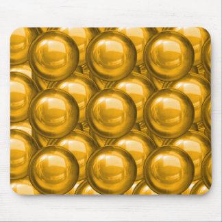 Golden Bauble Mousepad