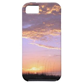 Golden Beach Clouds Sunset iPhone 5 Cases