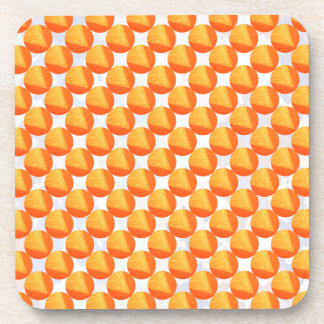Golden Beads : Spiritual and Goodluck Art Beverage Coaster