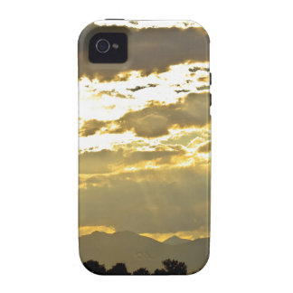 Golden Beams Of Sunlight Shining Down Vibe iPhone 4 Covers
