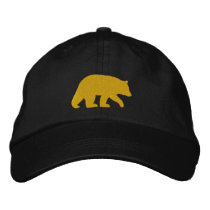 Golden Bear Embroidered Baseball Cap