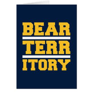 Golden Bear Territory Card