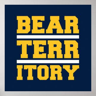 Golden Bear Territory Poster