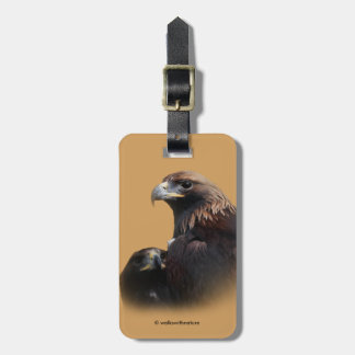 Golden Beauties Thru the Bars Luggage Tag