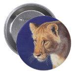 Golden Beauty Lioness button