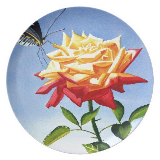 Golden Beauty Plate