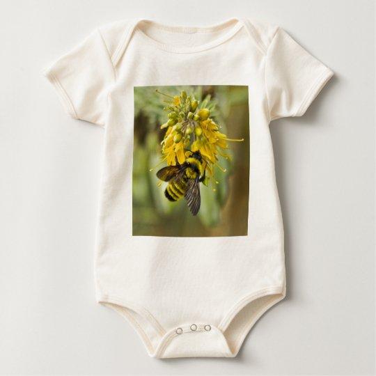 Golden Bee Baby Bodysuit