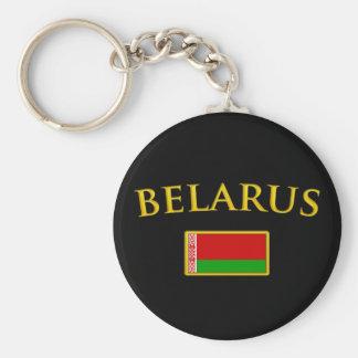 Golden Belarus Keychain