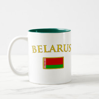 Golden Belarus Two-Tone Coffee Mug