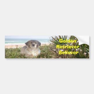 Golden Believer Bumper Sticker