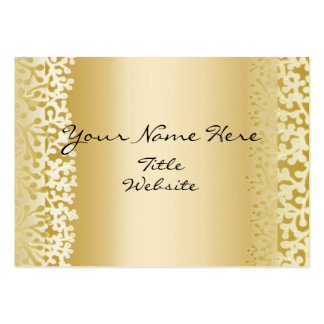 Golden Berry Vines Business Card